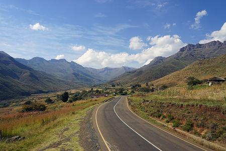 lesotho: Lesotho street