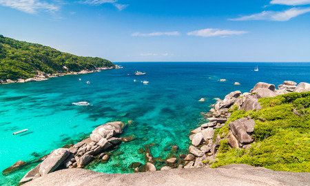 similan islands: Tropical beach, Similan Islands, Andaman Sea, Thailand