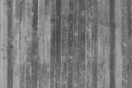 wood wall texture: texture of wooden form work stamped on a raw concrete wall as background