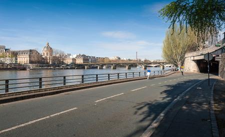 quoted: The Pont des Arts or Passerelle des Arts is a pedestrian bridge in Paris Stock Photo