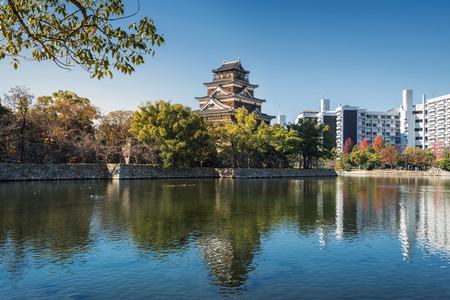 hiroshima: Hiroshima Castle in Hiroshima, Japan