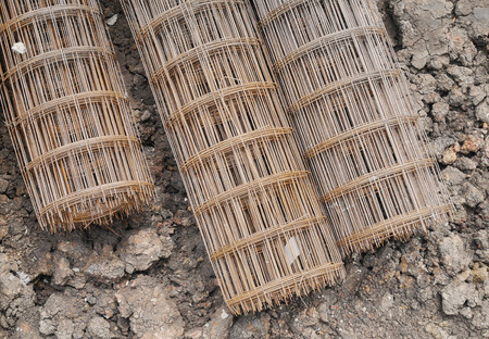 construction companies: steel wire mesh used to reinforce concrete in construction
