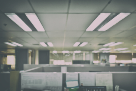 office space: Defocus office space background Stock Photo
