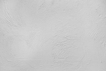 White rough cement plaster wall background Stock Photo