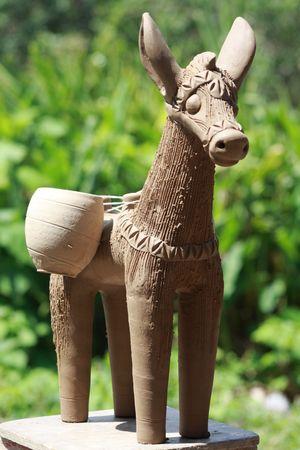 jack pot: Ceramic donkeys, Maragogipinha, Bahia, Brasil