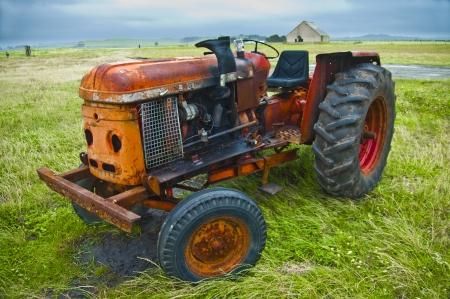 Vintage Farm Tractor photo