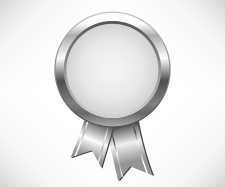 medal ribbon: Silver medal award