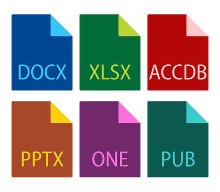 file type: File type icons