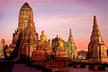 Temple in Ayutthaya ,Thailand