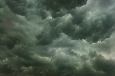 Dark storm clouds forming before the rain Stock Photo - 8953709