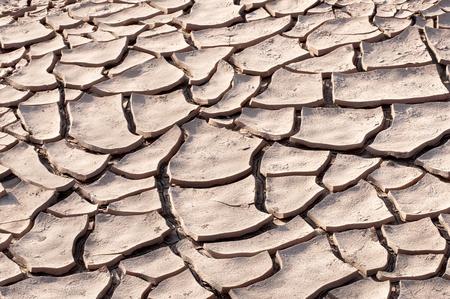soil break from heat background photo