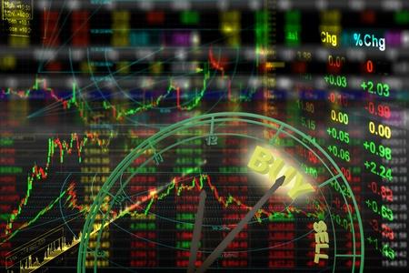 agente comercial: bolsa de valores de fondo del gráfico