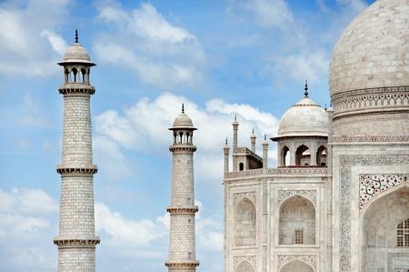 agra: Taj Mahal  Agra  , India Stock Photo
