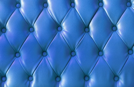background image of plush blue leather  photo