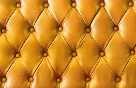 background image of plush yellow leather  Stock Photo - 11957088