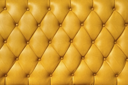 background image of plush yellow leather  Stock Photo - 12783123