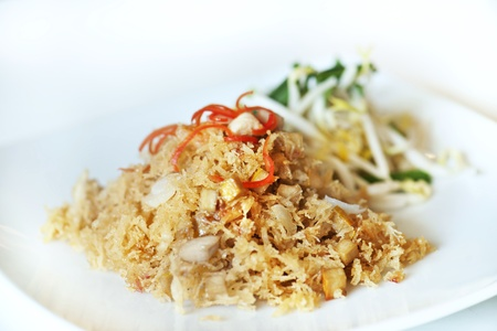 Thai crispy noodles Stock Photo - 12789386