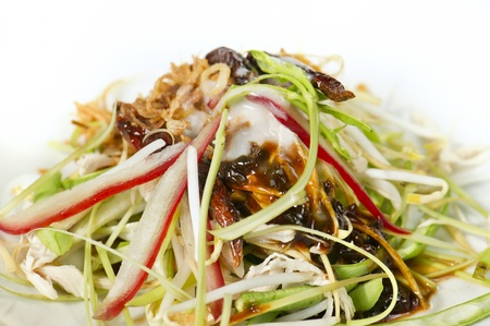 Thai salad mix fruit  and vegetable Stock Photo - 13031379