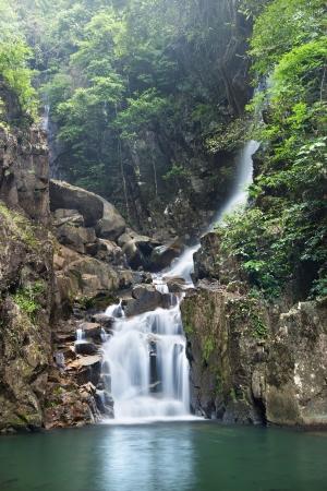 rill: waterfall in  national park , Chanthaburi , thailand