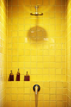 cabine de douche: cabine de douche avec accessoires