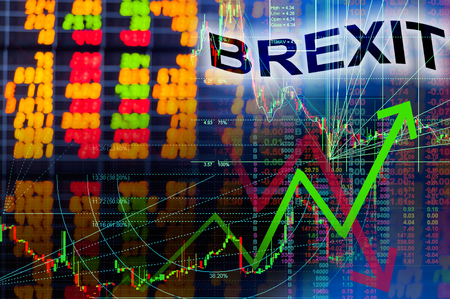electronic voting: Brexit effect in stock market