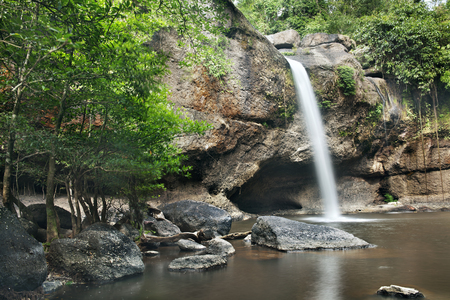 rill: waterfall in  khaoyai national park , thailand