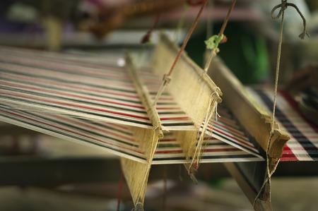 loom: Part of loom  homemade