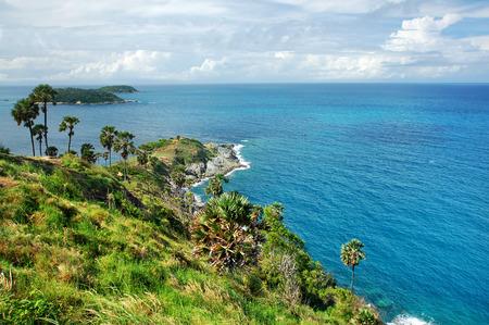 beach view: Cape of Phuket,Thailand Stock Photo