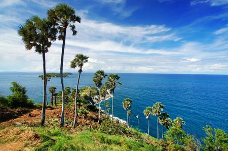 paradise bay: Cape of Phuket,Thailand Stock Photo