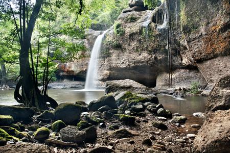 rill: waterfall in  khaoyai national park , thailand