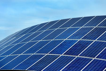 photocell: Solar power station