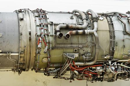 turbo: Old turbo jet engine