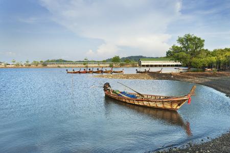Many boat at neap time