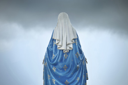homily: Virgin mary statue Stock Photo