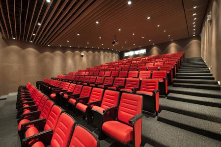 cinema chair Stockfoto