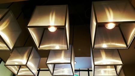 interior: Lighting decoration Stock Photo