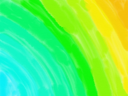 soft-color vintage pastel abstract watercolor background with colored (shades of blue, green, yellow color), illustration Stock Photo