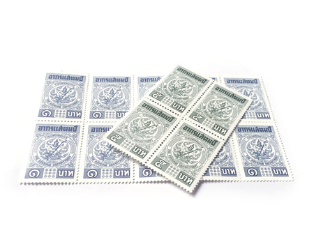 taxpayers: Revenue stamp of Thailand