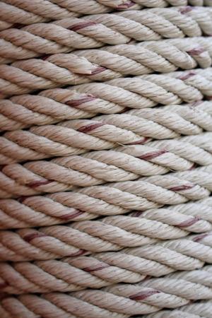 cohesive: Rope art Stock Photo