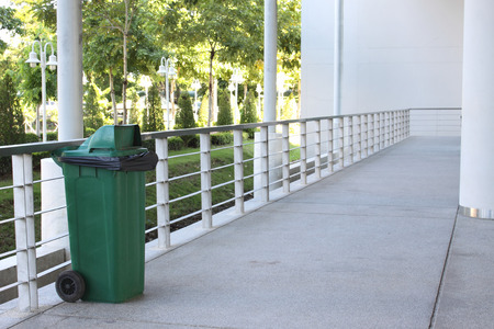 regularity: Keep clean by one green bin