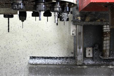 machining center: CNC Machine tool set for operate