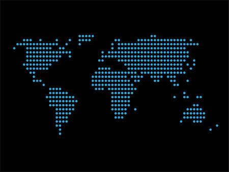 World map black background world distribution business royalty world map black background world distribution business stock vector 59835886 gumiabroncs Gallery