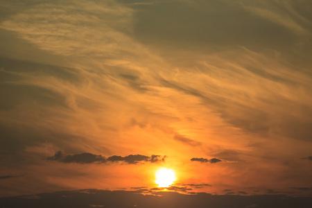 Background sun rise and beautiful dramatic sunset