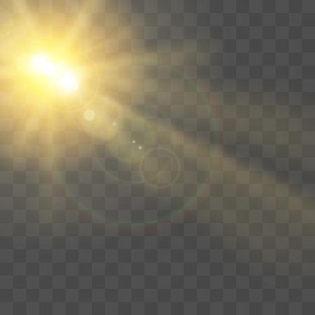 Special Sunlight lens Flare