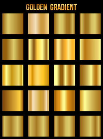 Set of golden gradient templates collection
