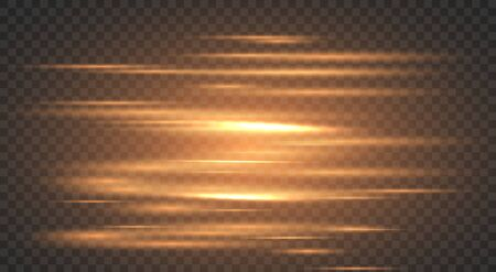 High speed movement design. Light and stripes energy stream .Hi-tech motion effect light blinking on transparent background.