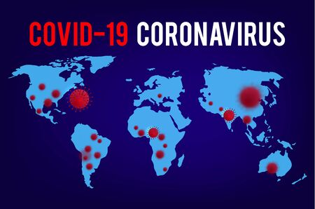 Breaking News.  019-ncov. Coronavirus Outbreak Abstract Banner. Breaking news background for medical news and graphical image of statistics.