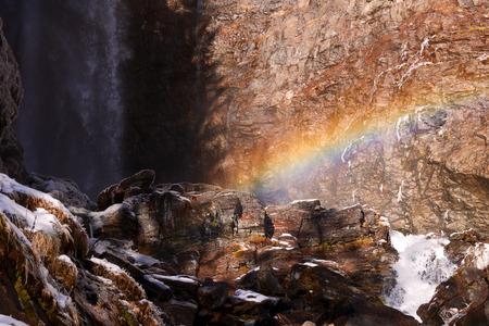 rabbi: Val di Rabbi. Cascada de Saent