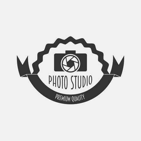 foto: Foto studio logo. Foto studio emblem. Photo studio logo   Fotostudio emblem, logo. Can be used to design business cards, flyers, posters, as a concept for the logo to be printed on T-shirts