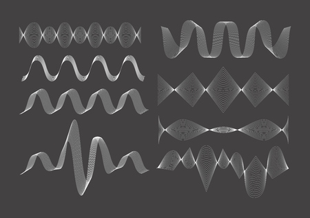 vibrations: Set of vector sound waves.